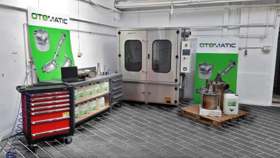 Otomatic maszyny, płyn do czyszczenia, adapter euro 6 VI